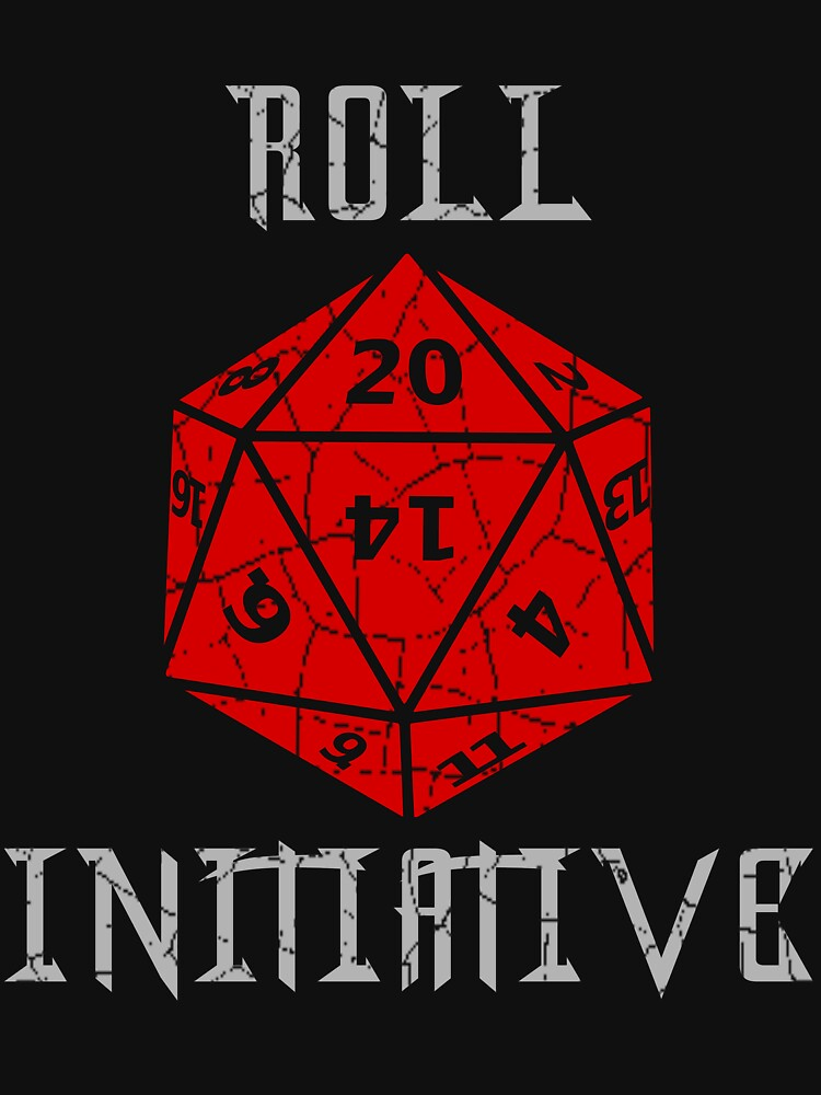 Dungeons & Dragons Roll Initiative gift idea by wirelessjava