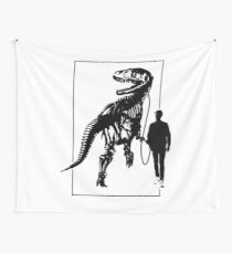 Dino Lover Wall Tapestry