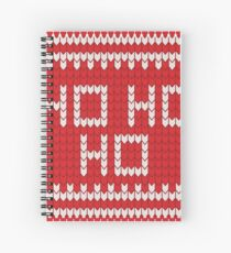 ❄ Holidays Pattern ❄ ◕‿◕ Spiral Notebook