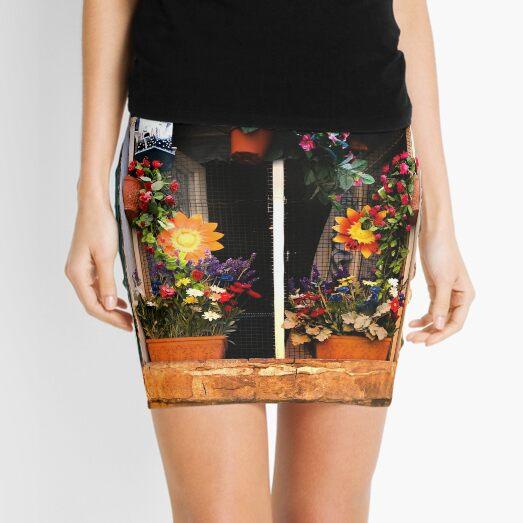 Tuscan window - Siena Mini Skirt