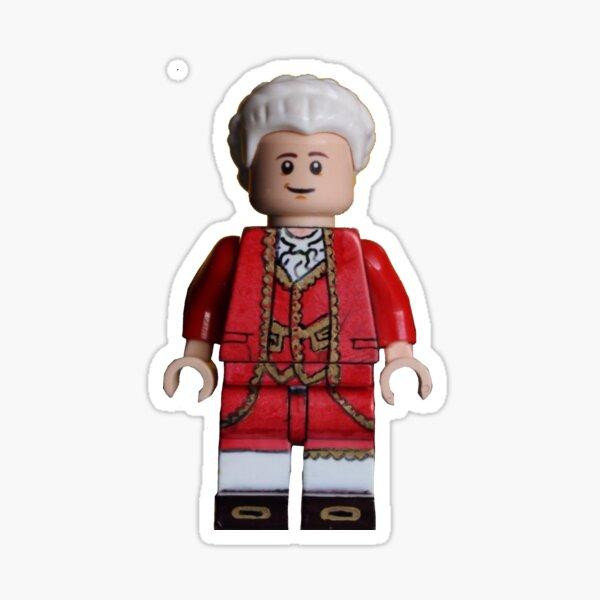 King George III - Hamilton - Broadway Bricks Sticker