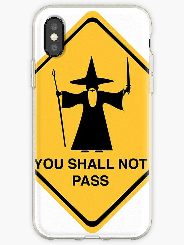 GANDALF YOU SHALL NOT PASS by PolShop