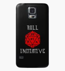 Dungeons & Dragons Roll Initiative gift idea Case/Skin for Samsung Galaxy
