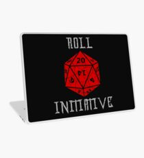 Dungeons & Dragons Roll Initiative gift idea Laptop Skin