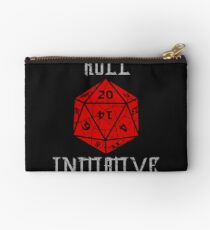 Dungeons & Dragons Roll Initiative gift idea Studio Pouch
