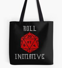 Dungeons & Dragons Roll Initiative gift idea Tote Bag