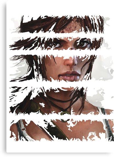 Lara Croft Torn by ProjectPixel