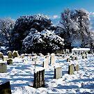 Hethersett Church in Winter by newbeltane