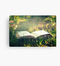 Some day you will be old enough to start reading fairy tales again ~ C S Lewis Canvas Print