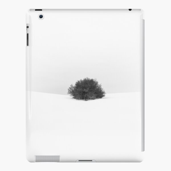 Winter minimal with a bush iPad Snap Case