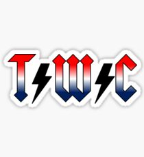 Timberlake West Camp ACDC Sticker