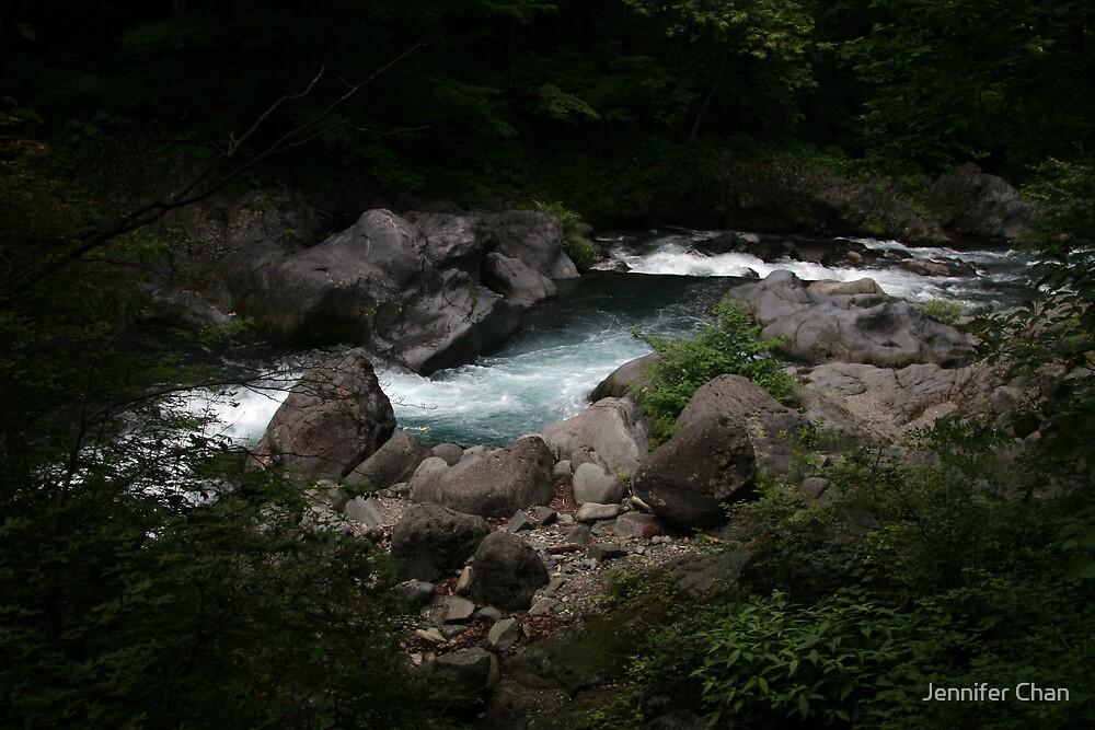 Daiya River, Nikko, Japan by Jennifer Chan