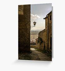 Cortona, Tuscany Greeting Card