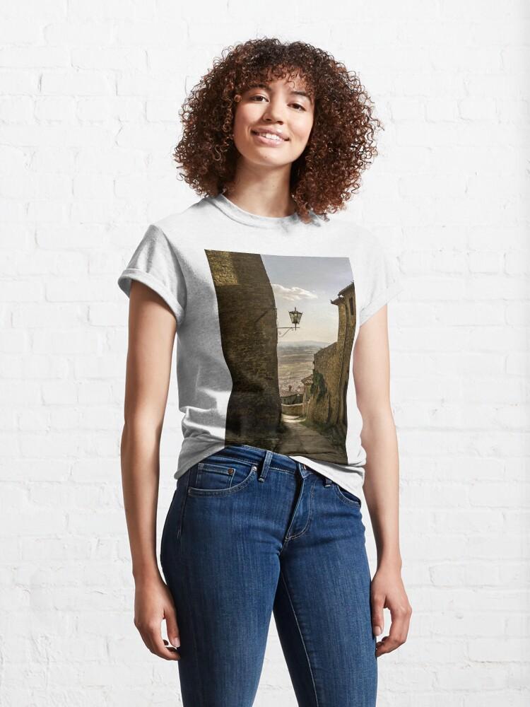 Alternate view of Cortona, Tuscany Classic T-Shirt