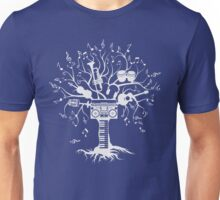 Melody Tree - Light Silhouette Unisex T-Shirt