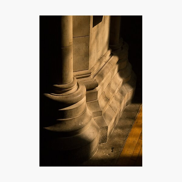 Southwark Cathedral - columns Photographic Print