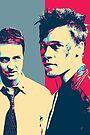 Fight Club Revisited - Tyler Durden and The Narrator by Serge Averbukh