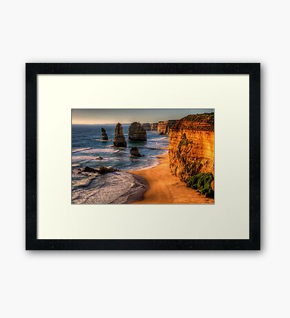 Icons - The Twelve Apostles, The Great Ocean Road - The HDR Experience Framed Print