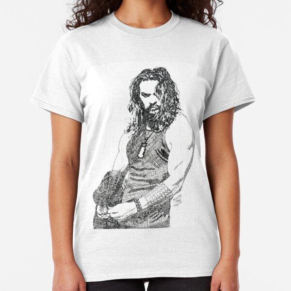 Jason ink drawing movie buff Classic T-Shirt