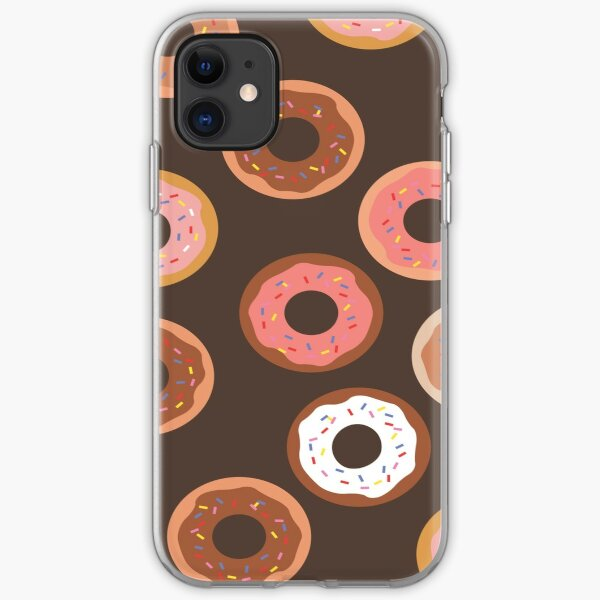 Delish Donuts iPhone Soft Case
