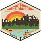 Grand Teton National Park von moosewop