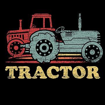Tractor harvest by GeschenkIdee