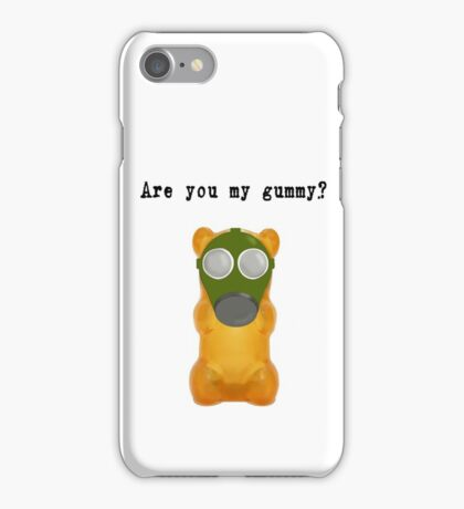 Are You My Gummy? (Black Text) iPhone Case/Skin