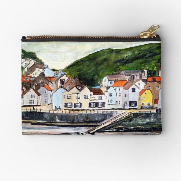 Staithes, North Yorkshire  Zipper Pouch