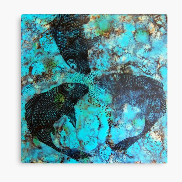 Koi Series#8 Metal Print