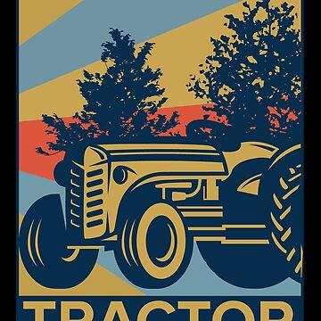 tractor by GeschenkIdee