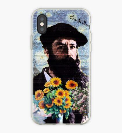 Claude Monet Mashed iPhone Case
