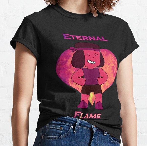 Eternal Flame Steven Universe Ruby and Sapphire Matching Shirts Classic T-Shirt