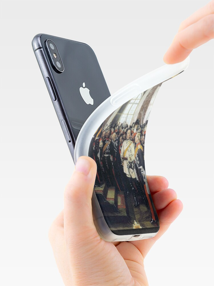 Alternate view of  Proclamation of the German Empire, 1871 iPhone Case & Cover