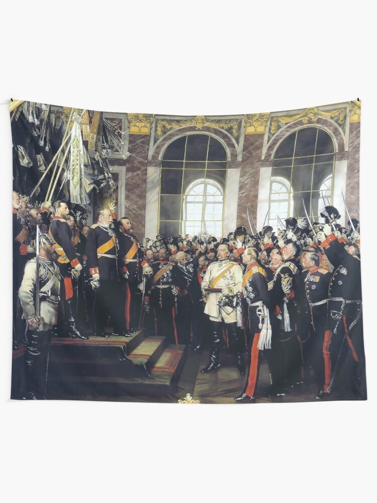 Alternate view of  Proclamation of the German Empire, 1871 Tapestry