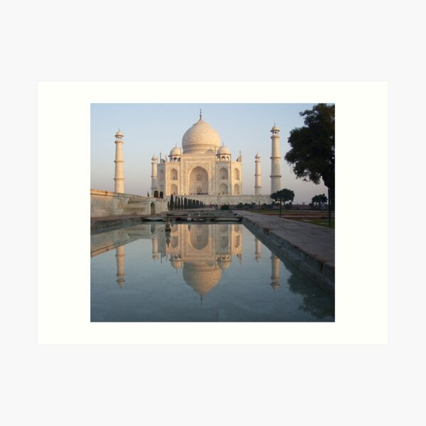 Sunrise at the Taj,Agra Art Print