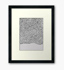 Ink Brush #1 Framed Print