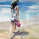 Walk on the Beach by Shirlroma