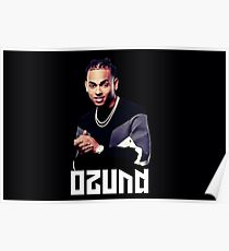 OZUNA, Black and White, Film effect, Top artists, Popular music, Good vibes, I like it like that, Gifts, Presents, Ideas, World Poster