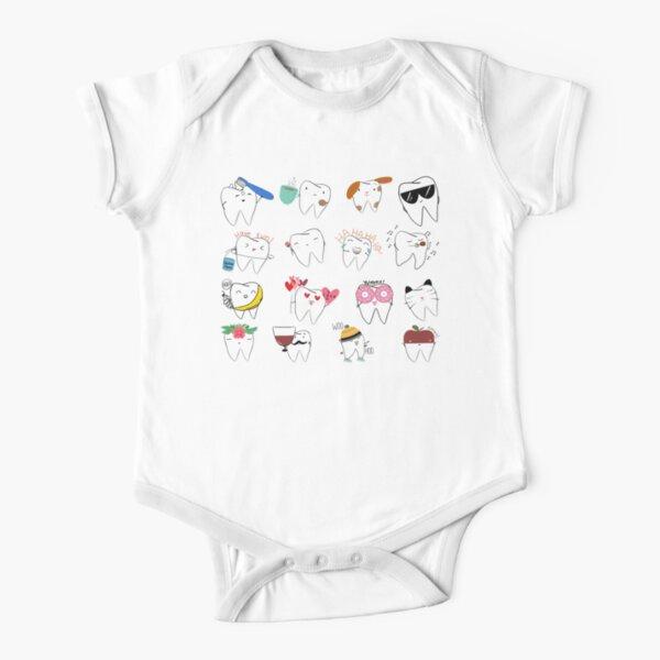 Mix-Molar Body de manga corta para bebé