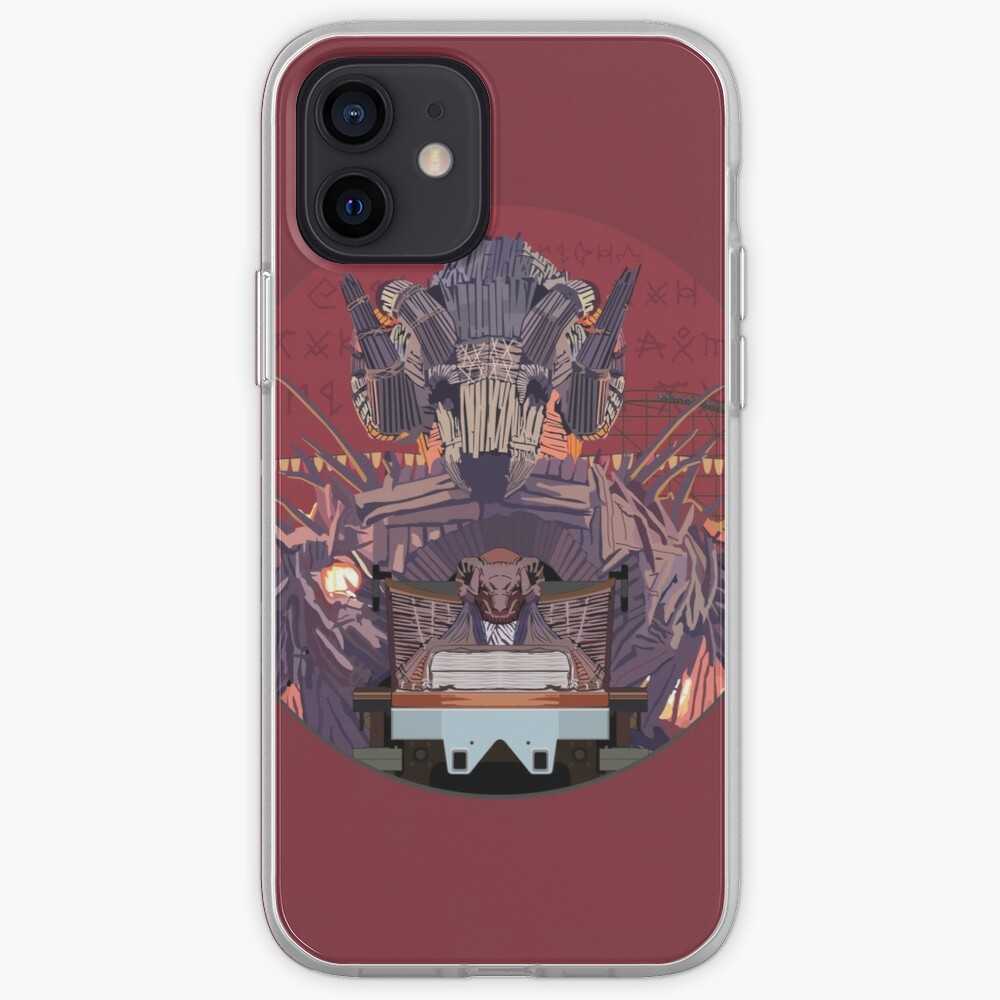 Wicker Man Rollercoaster Design - Alton Towers iPhone Case & Cover