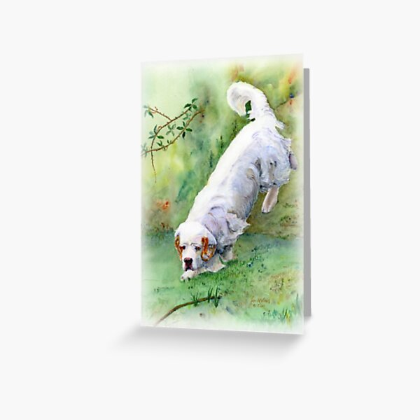 Into the dell Greeting Card