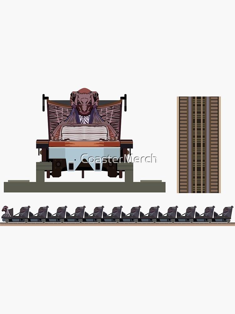 Wicker Man - Great Coasters International Wooden Coaster - Millenium Flyer by CoasterMerch