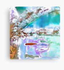 Cape Cod Traffic Jam Abstract Art Metal Print