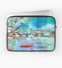 Cape Cod Traffic Jam Abstract Art Laptop Sleeve