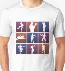Emotes for everyone! Unisex T-Shirt