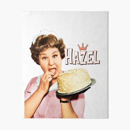 Hazel TV Art Board Print