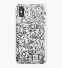Boxes and Circles iPhone Case/Skin