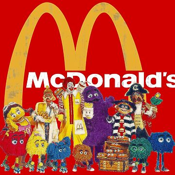 McDonalds' Pals by SoCalKid