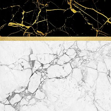 Gold and Marble Stripes by vinpez