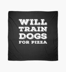 Pañuelo Entrenará perros para pizza Idea de regalo de entrenador de perros divertidos